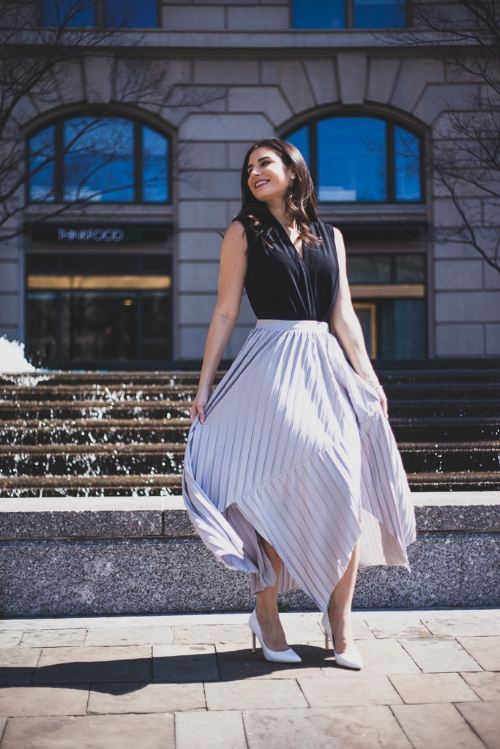 Pretty pleated outfit