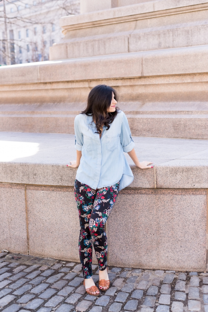 Printed Jeans Perfect for Summer