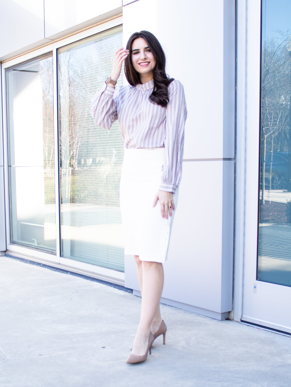 Ann Taylor Skirt and Top