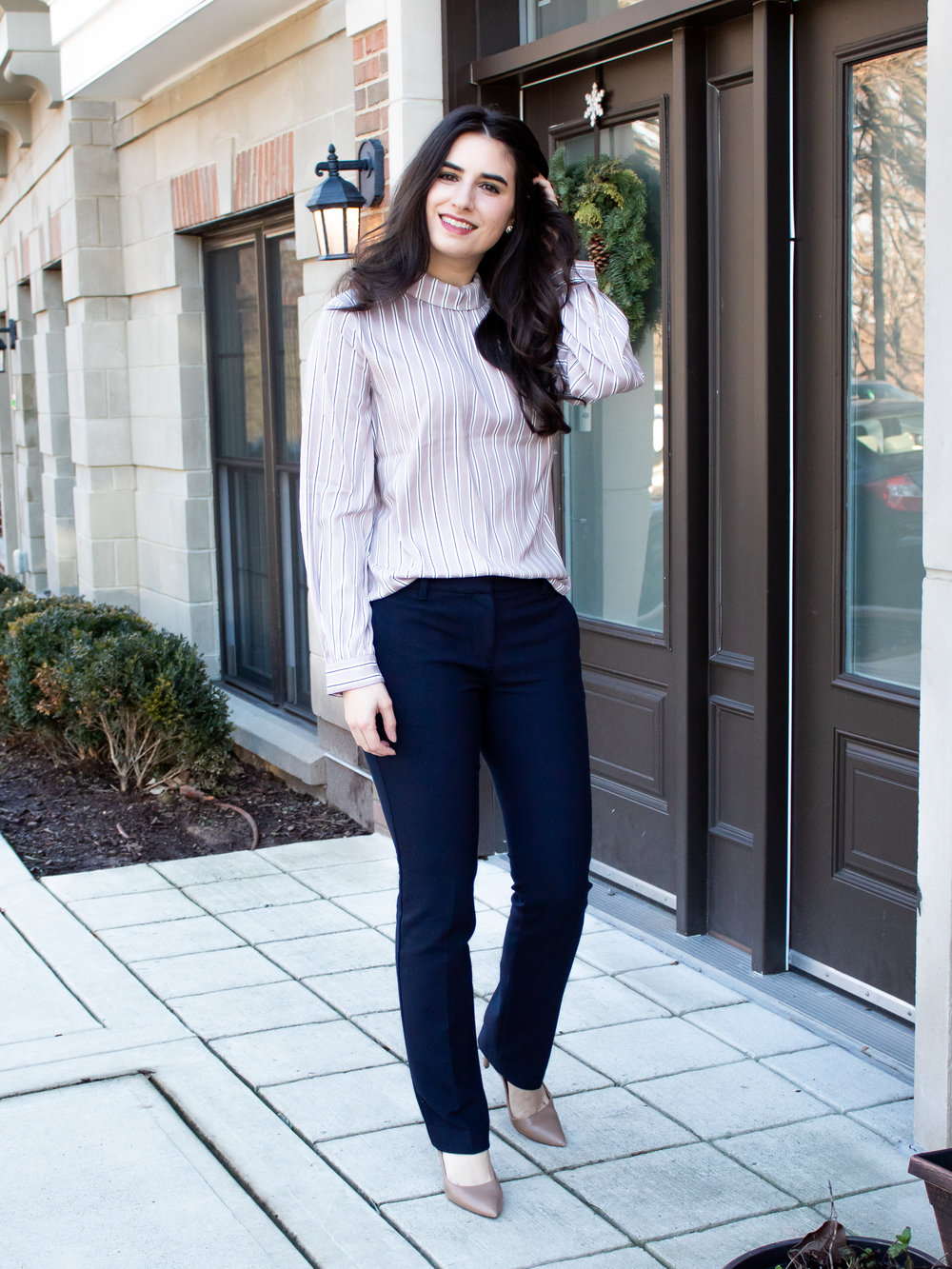 Ann Taylor Top and Pants