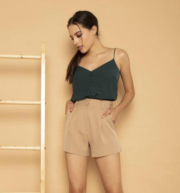 High-Waist Shorts | SOTP | $89