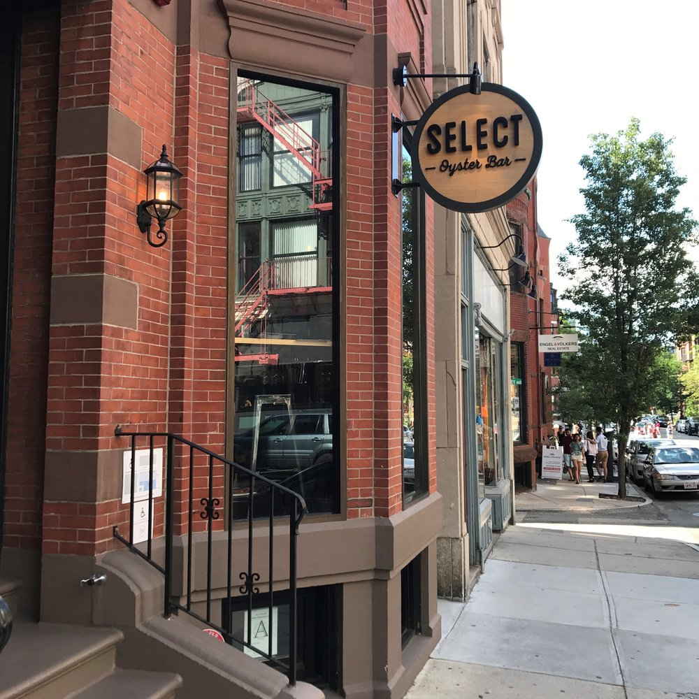 Select Oyster Bar, Boston, MA -