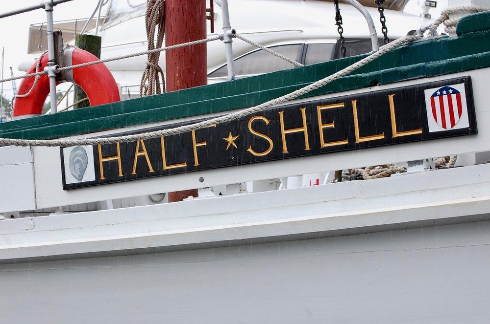 Half Shell, the boat. Source: www.halfshelladventures.com