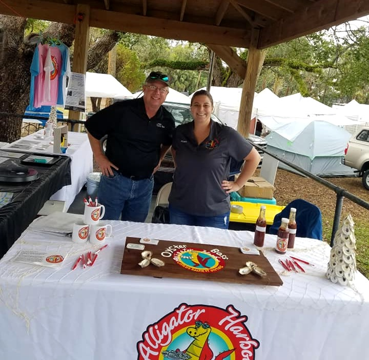 Jeff and Nicolette of Oyster Boss. Source: Oyster Boss Facebook.