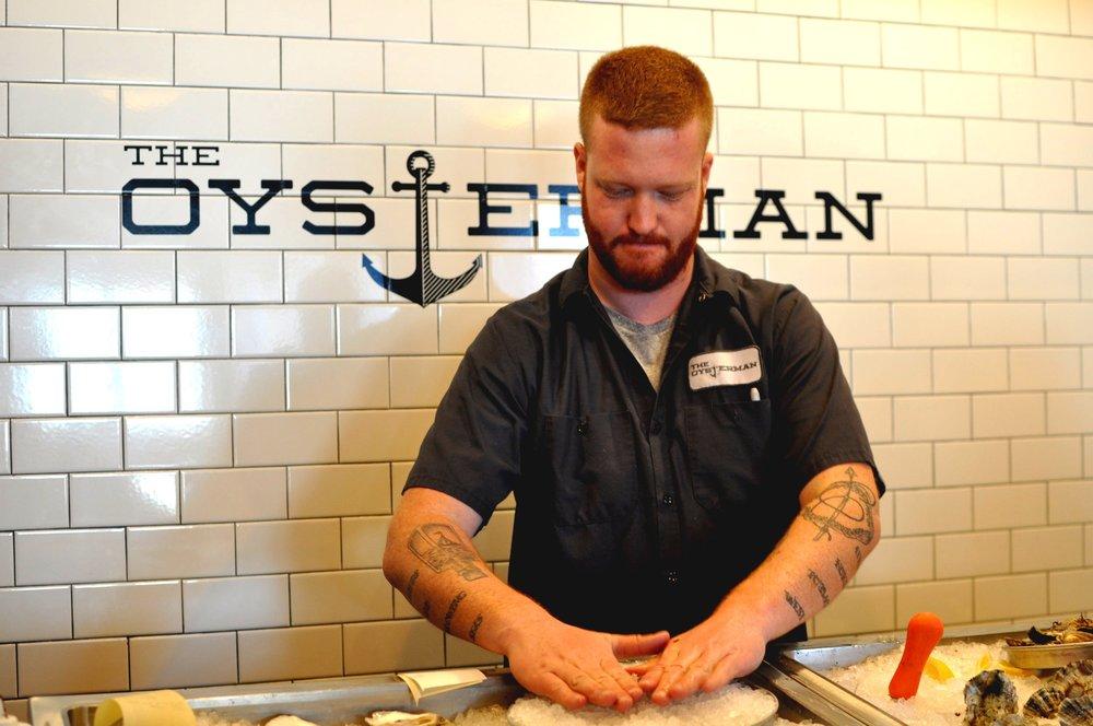 Graham at The Oysterman