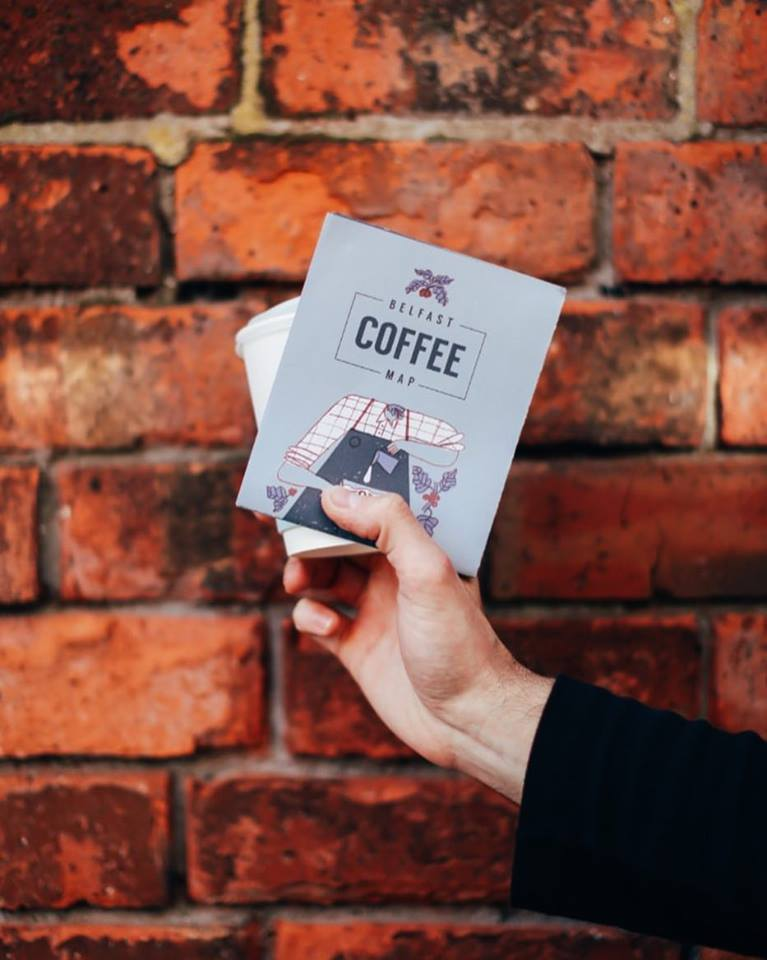 Click to pick up your own Belfast Coffee Map online now! -