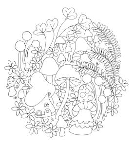 Mushroom Fern