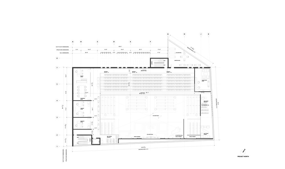 PROPOSED MEZZANINE PLAN