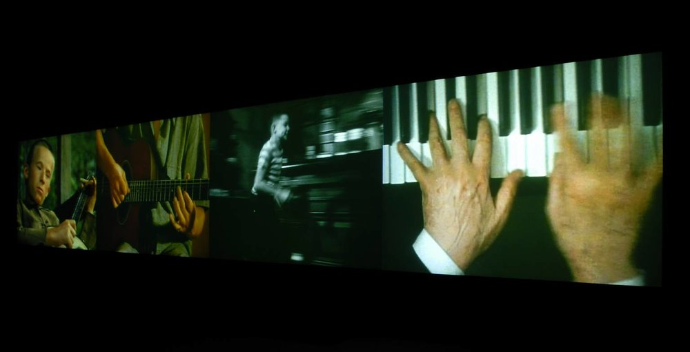 Christian Marclay, Video Quartet, 2002
