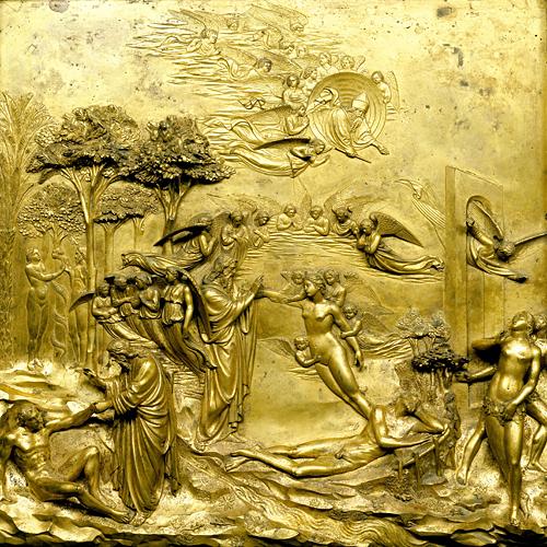 Lorenzo Ghiberti, Gates of Paradise , 1425–52
