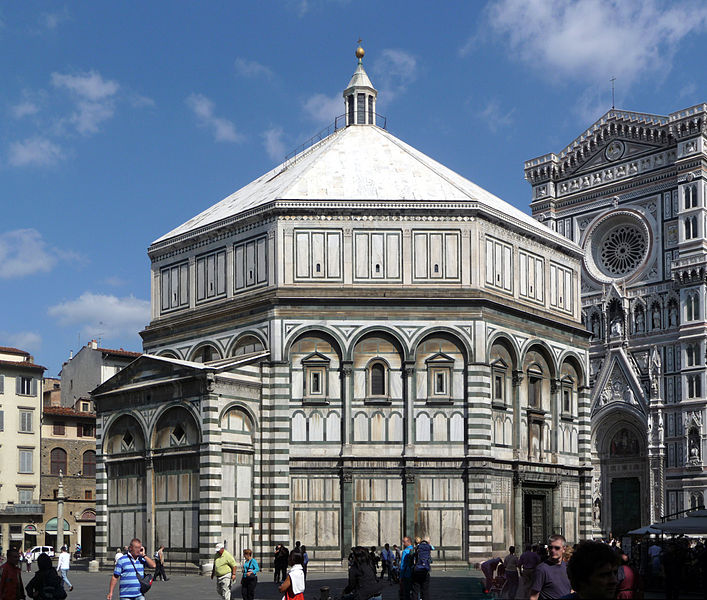 photo credit:  Lucarelli, Florence Baptistery, 2008