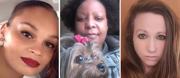 From left to right, the victims found on Page Blvd.: America Lyden, Ernestine Reyes, & Kayla Escalante