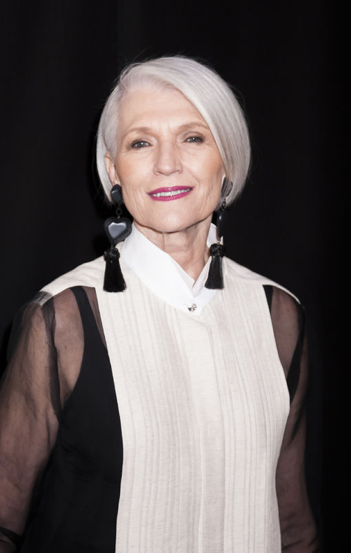Maye Musk in 2016; born 1948