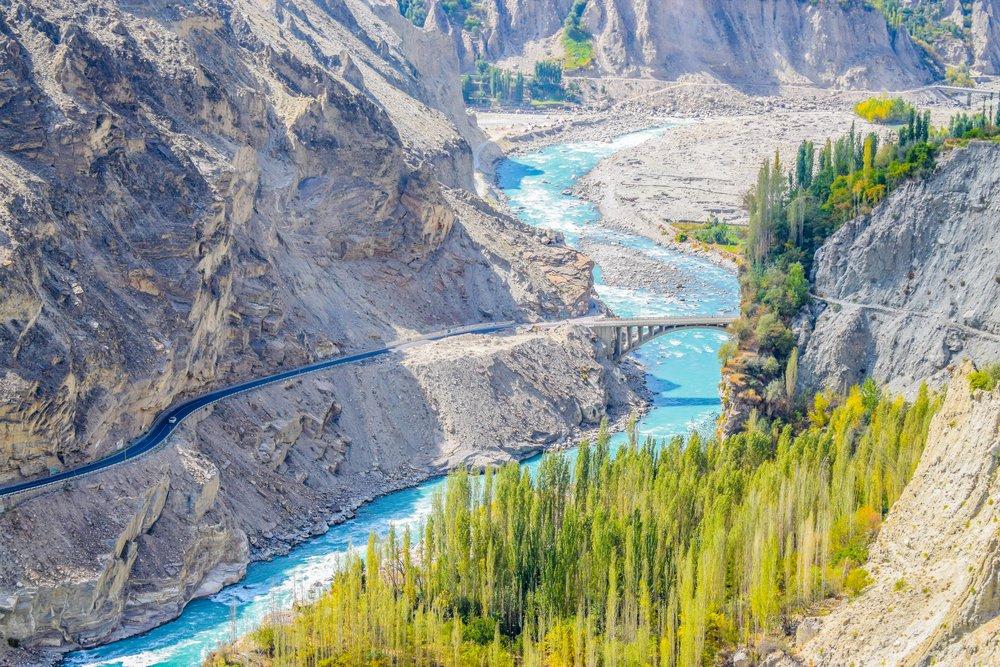The Hunza Valley, Pakistan