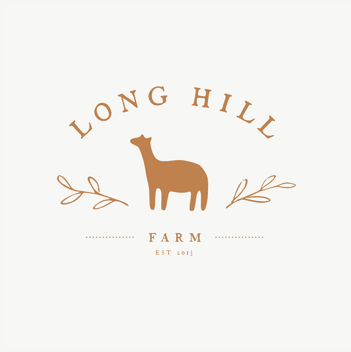 Farm logo by illustrator Amy Oreo | Quirky and whimsical freelance illustration