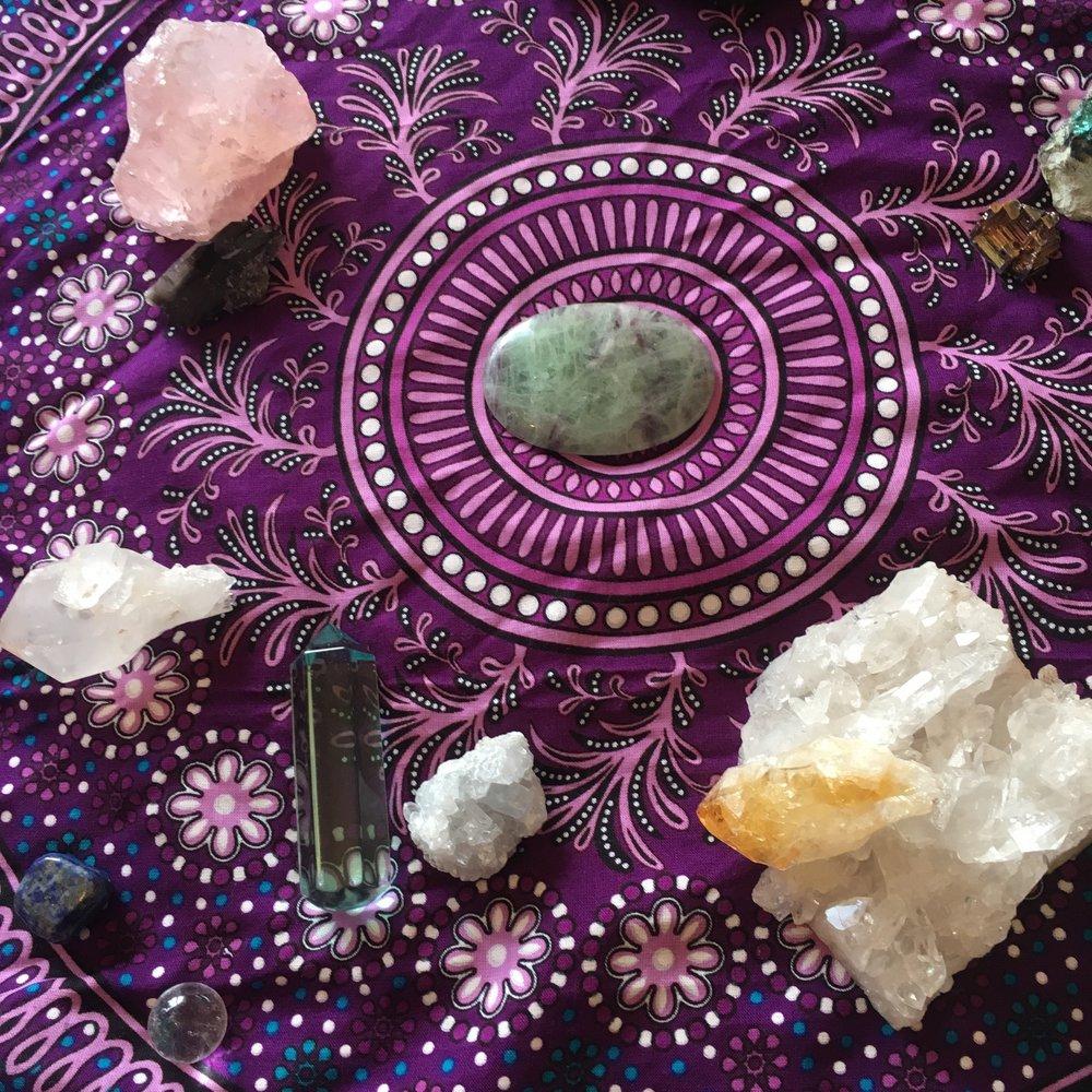 Jackie Foley Yoga Weaving Truth
