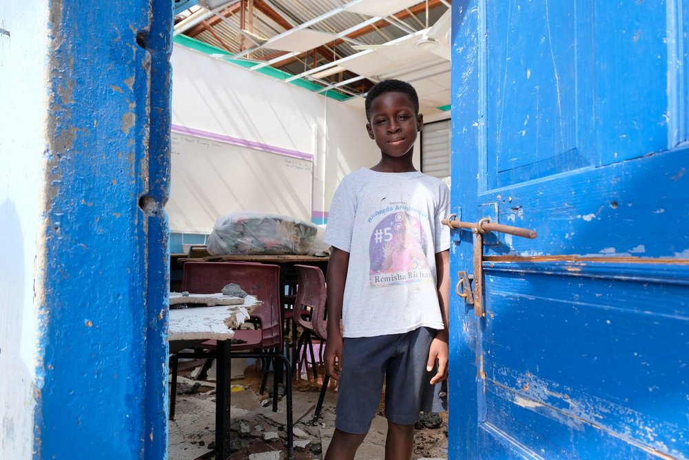 Photo credit: UNICEF/English.   Post Hurricane Maria 2017