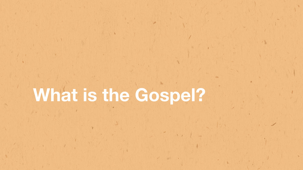 What is the Gospel? - Pastor Jeremy DeBord