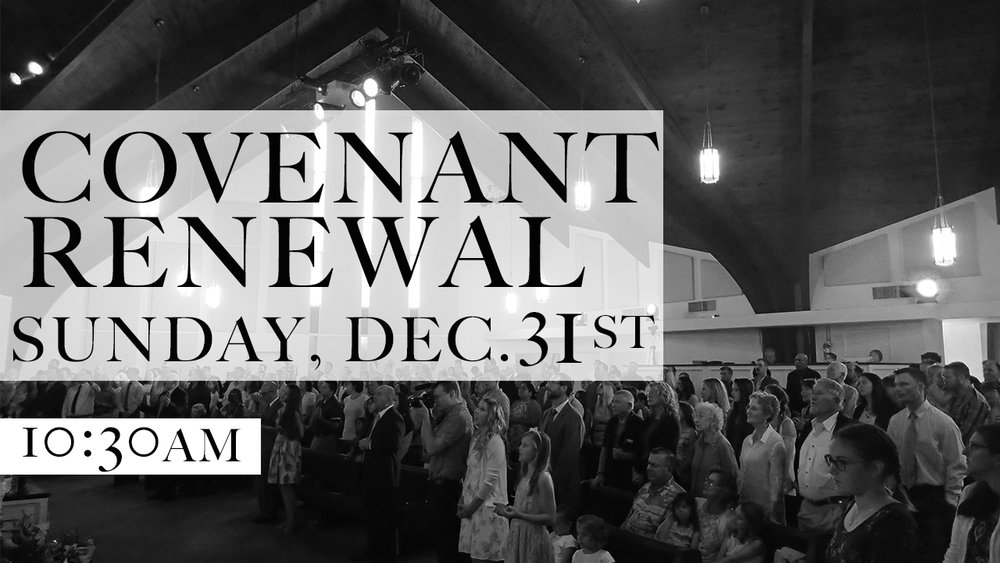 Covenant Renewal Service - Pastor Dave Lescalleet