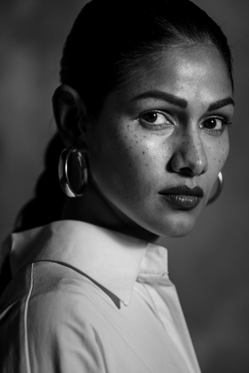 Concept and Styling by Shirin Salwan.  Photographed by Rafique Sayed.  Hair by Akshata Nandan Honawar.  Makeup by Alisha Bhambani Agarwal.