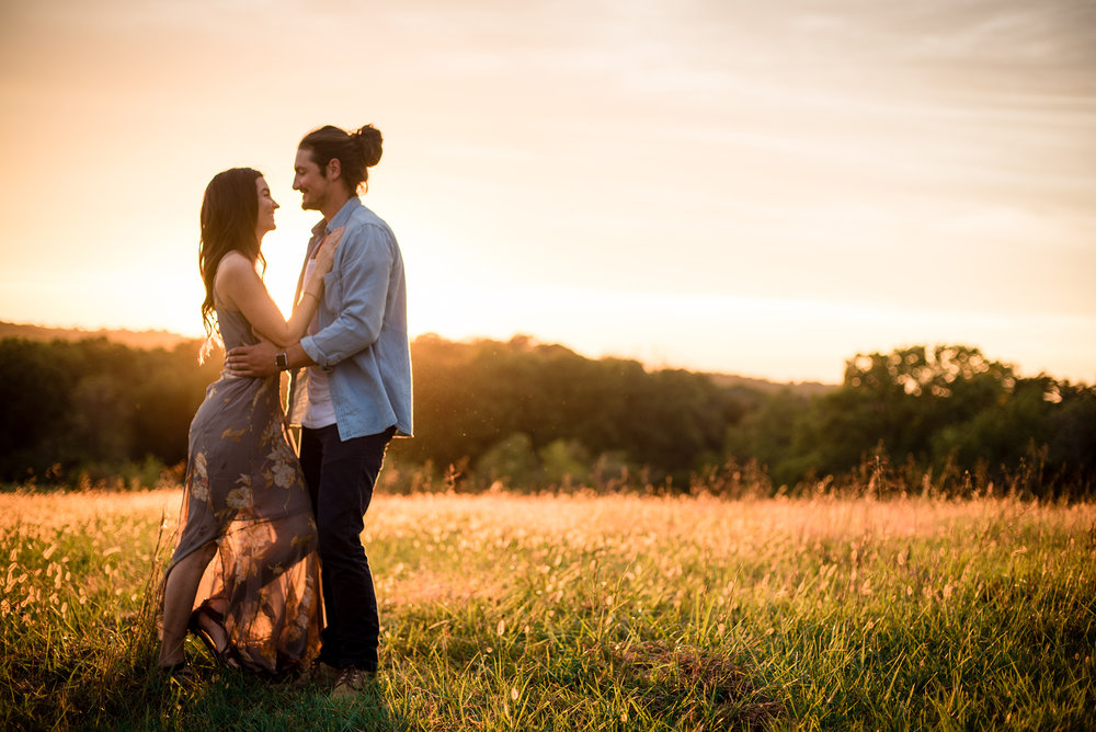 Brittany and Zach, Kansas City Engagement, LGEmerick Photography