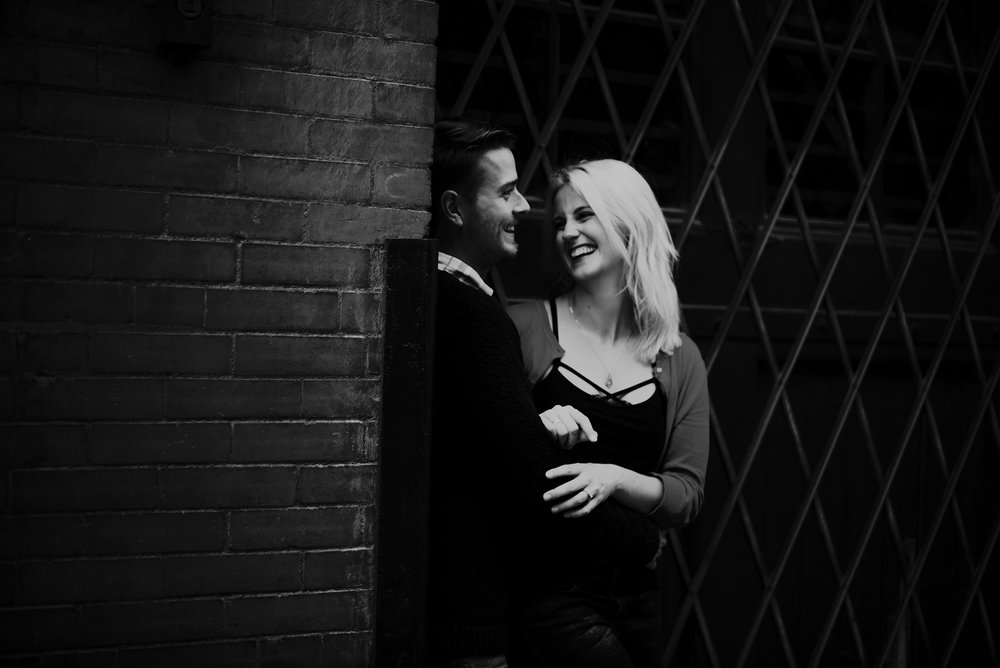 Kiernan and Sean, West Bottoms Engagement Session