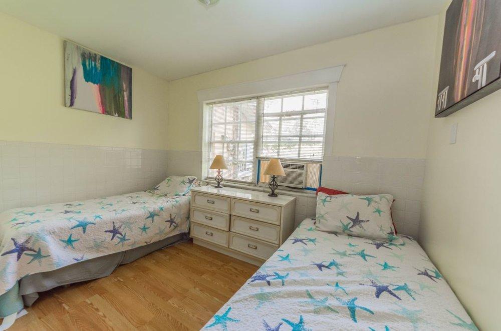 Double room, Shirdi Guest House. Shared bath.