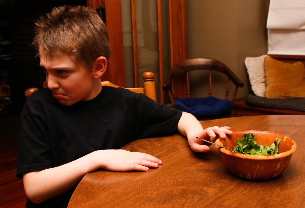 Picky eating- muscle weakness