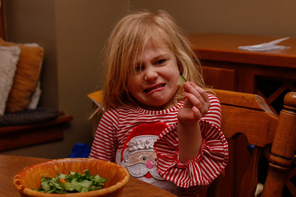 Picky eating- sensory concerns