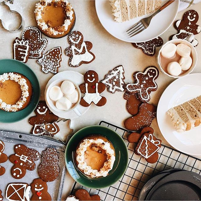 Let the holiday baking commence 🎄 photo via @joythebaker
