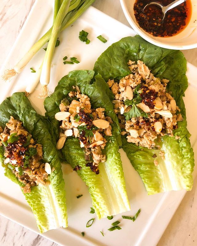 When the lettuce wraps are fire. 🔥 . . . . . #instagood #food #chefsofinstagram  #instapic #chefmode #cleaneating  #foodie #foodporn #homemade #buzzfeedfood #feedfeed #thefeedfeed #huffposttaste #foodprnshare #droolclub #f52gram #thekitchn #sweetmagazine #tastespotting #forkfeed #foodgawker #kitchenbowl #foodbloggers #nikkistable #lettucewraps #fitfam