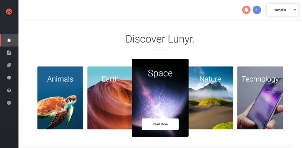 "Lunyr's alpha / beta app. Their tag line is the ""Future of Knowledge Sharing"". Think Wikipedia but backed by the ethereum blockchain and users get rewarded for sharing information. Built the full frontend in ReactJS and also built out a large portion of the backend in Go. Worked with web3.js, truffle, IPFS, and a bunch of decentralized systems + blockchain systems.  Time to deliver:  1.5 months initially, now totaling 6 months"