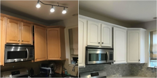 Before and After Professionally cabinet painter.jpg