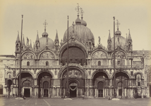 St. Mark's Basilica Then