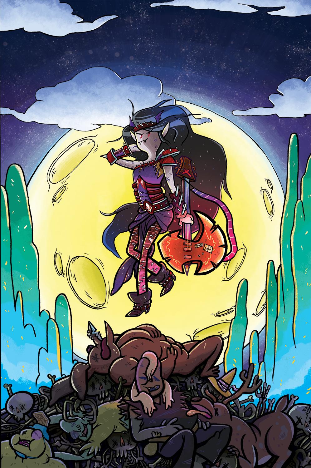 Marceline Goes Adrift #1 - Sub Cover