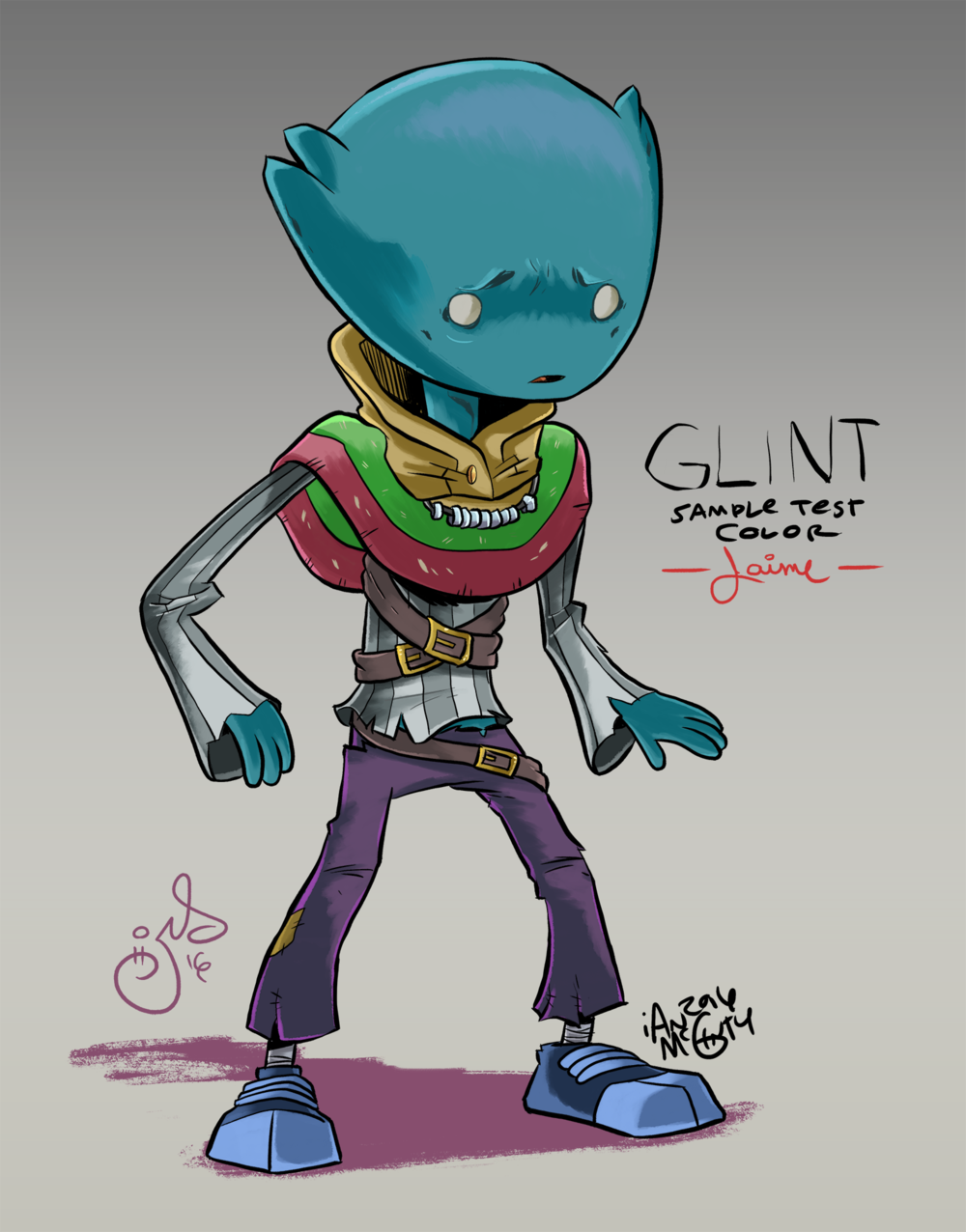 COLOR TEST - LOON