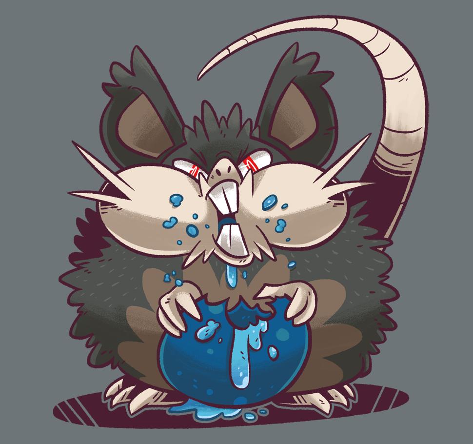A BIG RAT