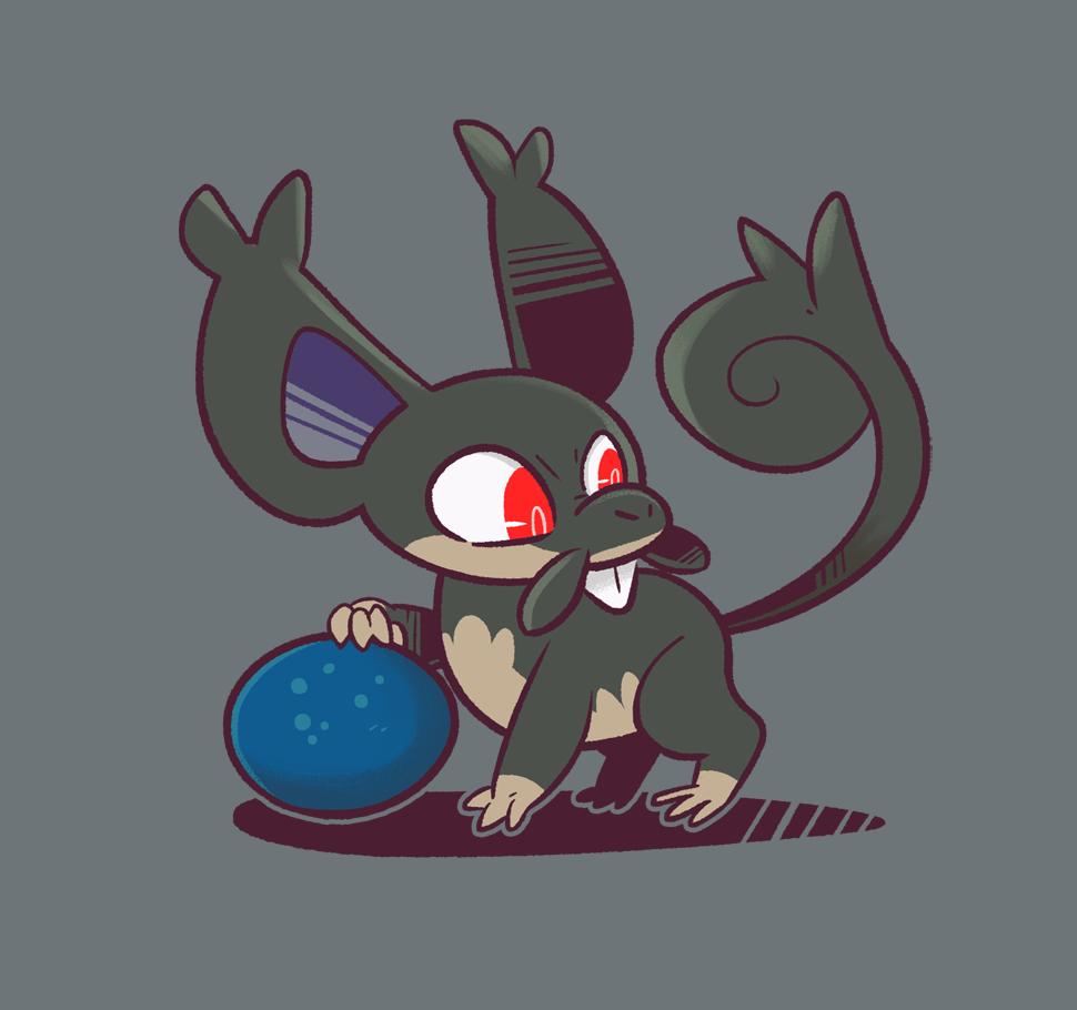 A SMALLER RAT!