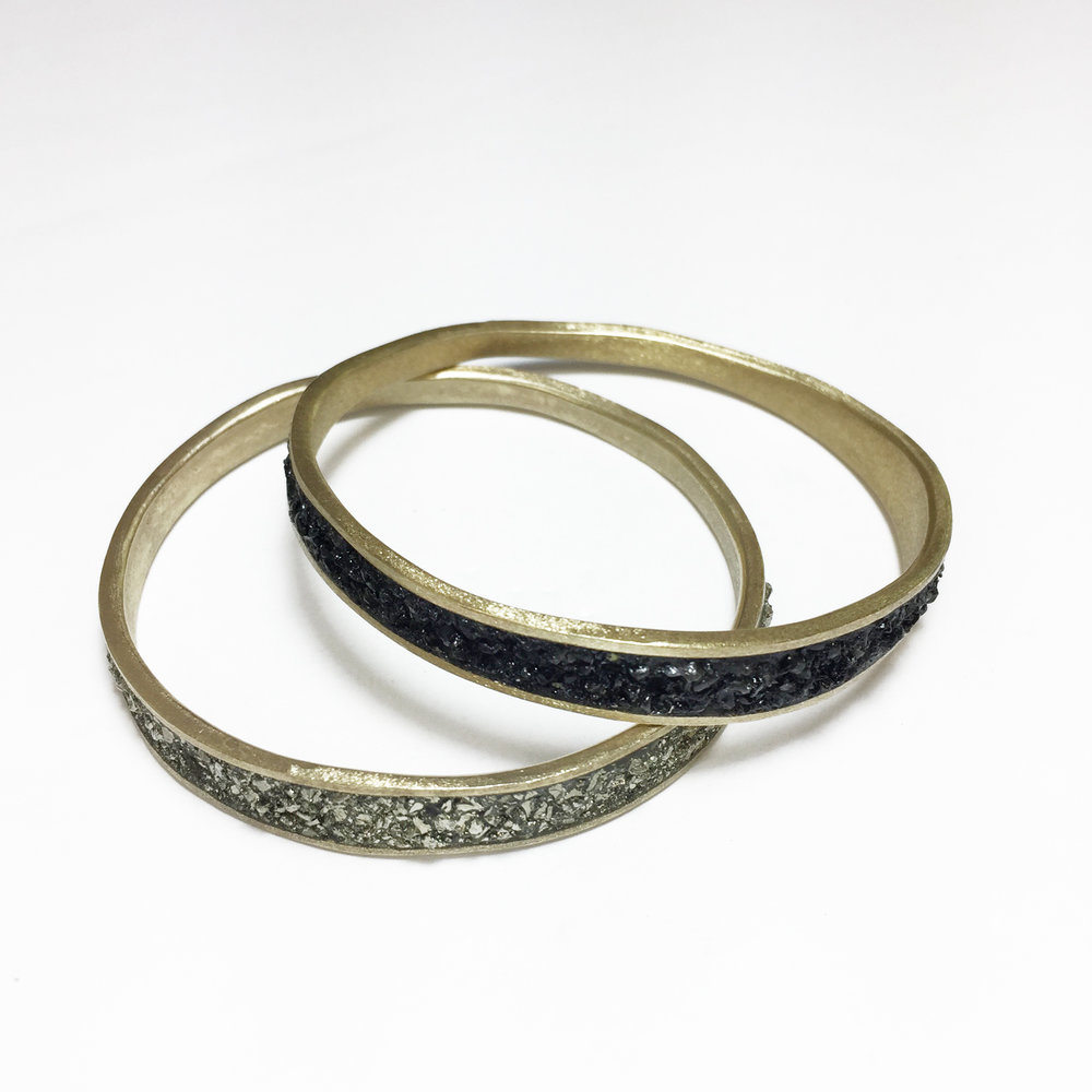 bangles weight design watch thin light gold