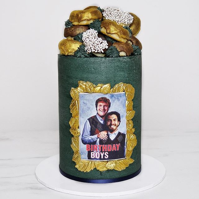 Sometimes, the only appropriate birthday cake theme is a Stepbrothers cake 👬🎂