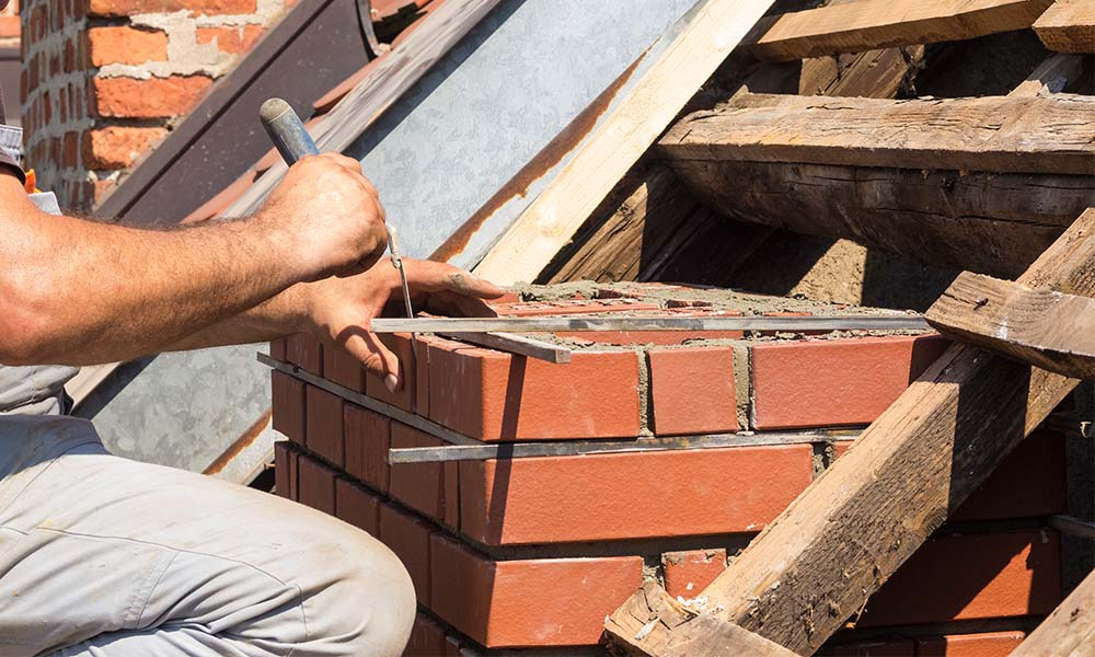 Chimney Repointing - Crack Joints Repairs • Damage Crowns • Stainless Steel Chimney Caps