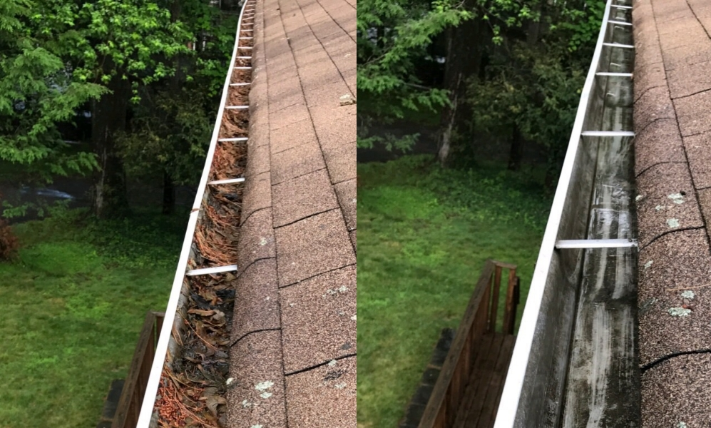 Gutter Cleaning - Gutter Leak Repairs • Gutter Cover Systems • Gutter Replacement