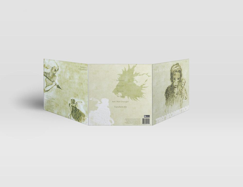 TRANSFORMATION - cd cover design