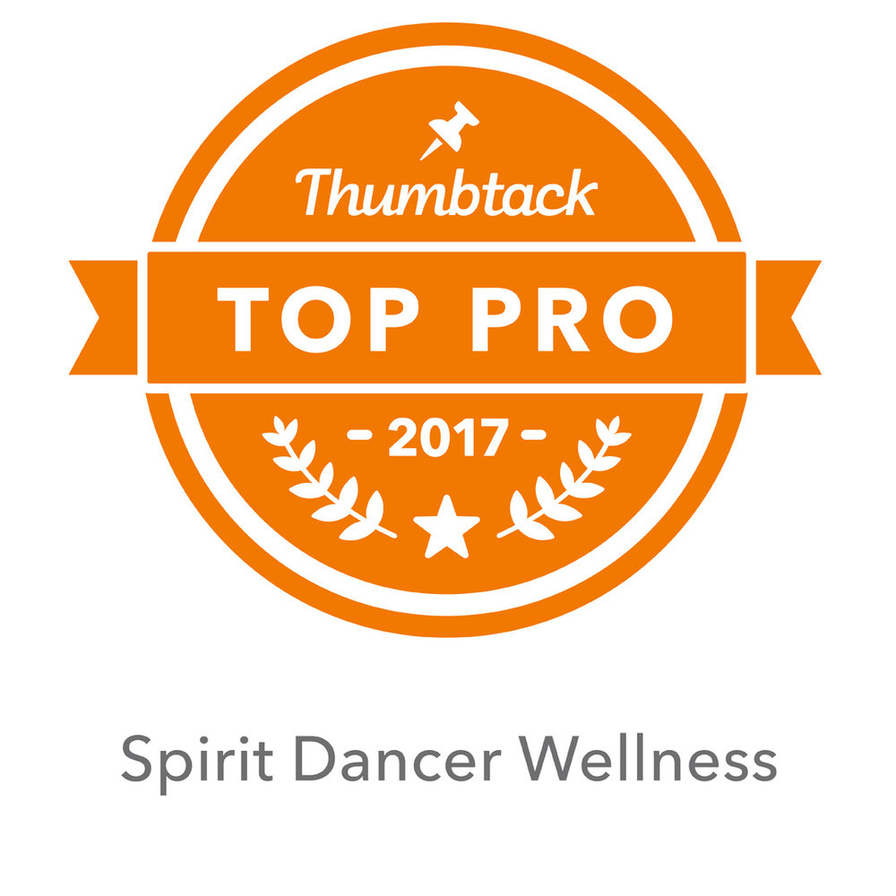 """YAY! Hey loves! Tehani here :) I have some beautiful news to share...  I've been in the Top 3 Reiki Masters on Thumbtack as a """"Best of"""" service provider for the past few years, but just being awarded TOP PRO status puts me at the top 4% if ALL service providers... and that is a good feeling :) I really love this work and deeply care about the well being of all my clients; this is such a wonderful little way to show it! What I love about TOP PRO status (aside from the cute little ribbon next to my name that now shows up in quotes lol) is that you cannot buy pro status or request it... it is based on ACTUAL WORK, ACTUAL REVIEWS & ACTUAL RESULTS. As a Capricorn Sun Sign (with a Leo Rising), that's the best little nod you can give me hehe.  Learn more about Spirit Dancer Wellness on my  Soul Page  here. Thanks so much for all your support and awesomeness! It's this amazing community that fuels the fire and keeps me blissfully engaged with this work every single day.  Forever Grateful to this Work that is My Life...  xoxo ((hugs!)) T."""