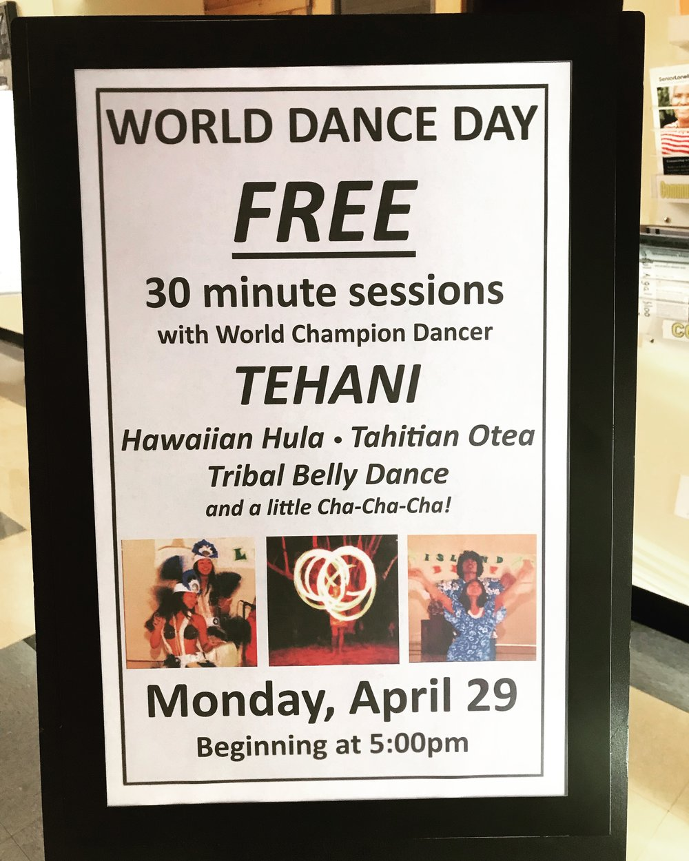 World Dance Day was a success!  Thanks to the City of Newport, we had a successful and fulfilling event for an intergenerational group of women (hopefully we'll have men, too, next year!) sharing the love of dance :)  Love it!  Looking forward to making this an annual event… as long as I am here in Oregon (I'm thinking 2022 is the year I move to Florida or Hawaii… we'll see how the cards fall for us).  Until then, we are rocking out on the Oregon Coast and continuing contracts in Washington and Southern California (woohoo!).  Really enjoying this ride here in the Pacific Northwest.  It's been quite an adventure!  More soon :)