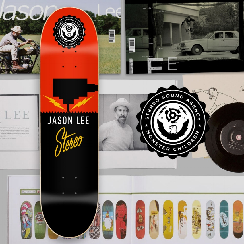 Limited Edition Stereo X Monster Children Jason Lee deck, 2015. SOLD OUT