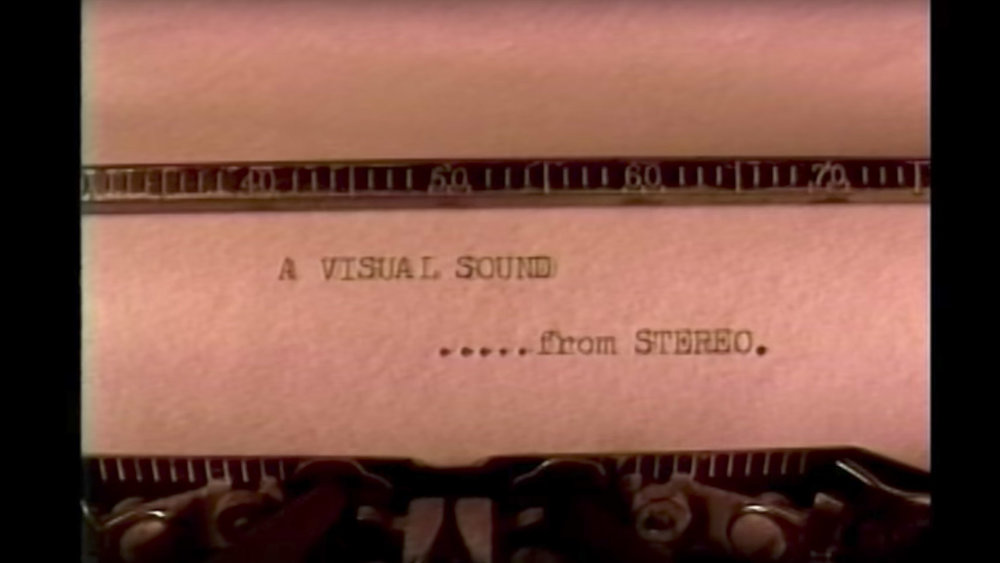 'A Visual Sound' - Stereo Skateboards video, Super-8/Hi-8, 1994
