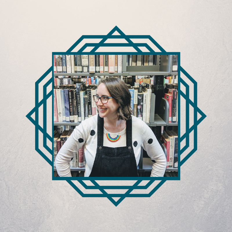 Hallie - the librarian