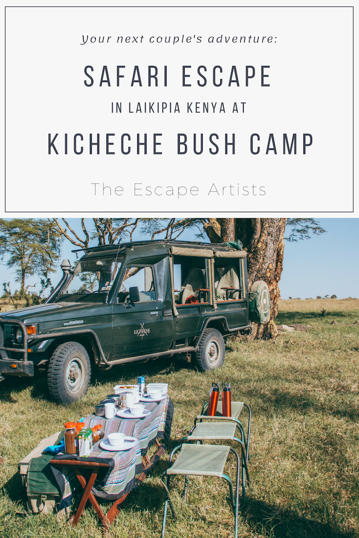 The Kicheche Laikipia Safari Couple's Escape, Kenya Africa