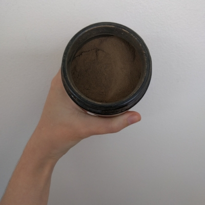 Mmm, cacao scented dirt